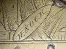 Brass Flintlock Over and Under Tap Action Pistol by Henry Nock, ca. 1800