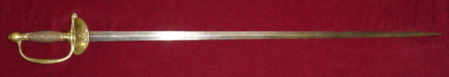 French Officer's Sword, 19th C