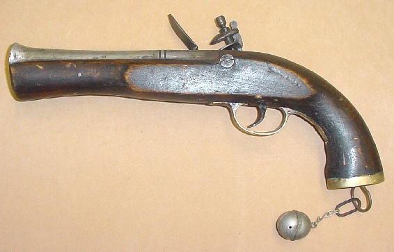 Afghan Flintlock Blunderbuss Pistol