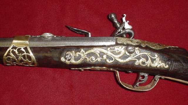 Rare Italian Flintlock Sporting Gun, ca. 1680