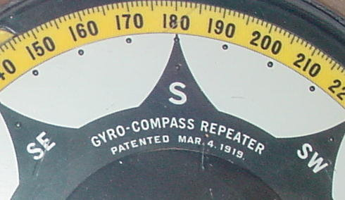 Sperry Repeating Gyro-Compass from Pearl Harbor Survivor!