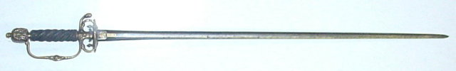 Fine German Transitional Rapier/Smallsword, 17th/18th C