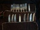 Landers, Frary & Clark 16 piece sterling silver set