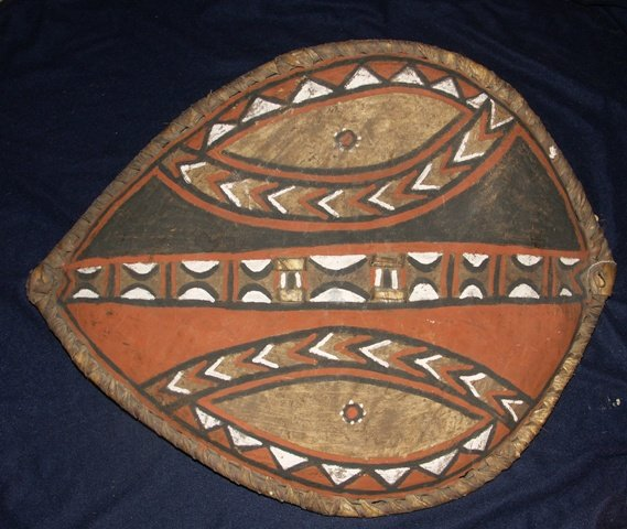 African Masai Ceremonial Shield, Late 19th/early 20th C