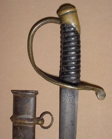 Confederate Foot Officer's Sword