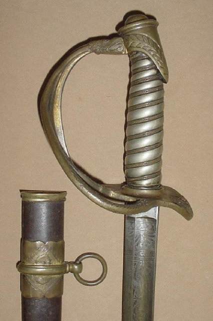 Presentation Grade US M1860 Cavalry Officer's Sabre