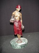 Bronze Figurine/Water Carrier Girl