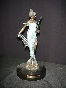 Bronze Figurine/Diane by Roche