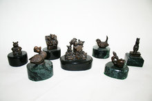 Mini Bronze Figurines