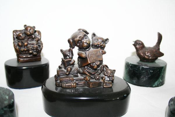 Mini Bronze Figurines