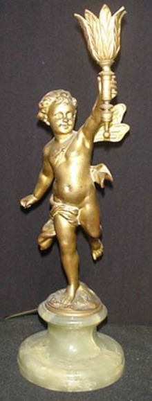 CHERUB LIGHTING FIXTURE