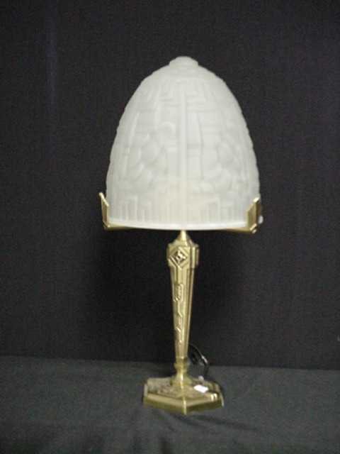 #127 French Deco Lamp