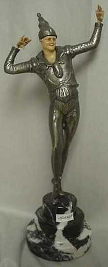Art Deco Figurine Sculpture