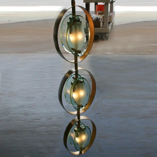 Fontana Arte Style Lighting Pendants
