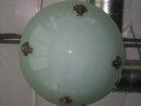 Lg Glass Bowl Chandelier