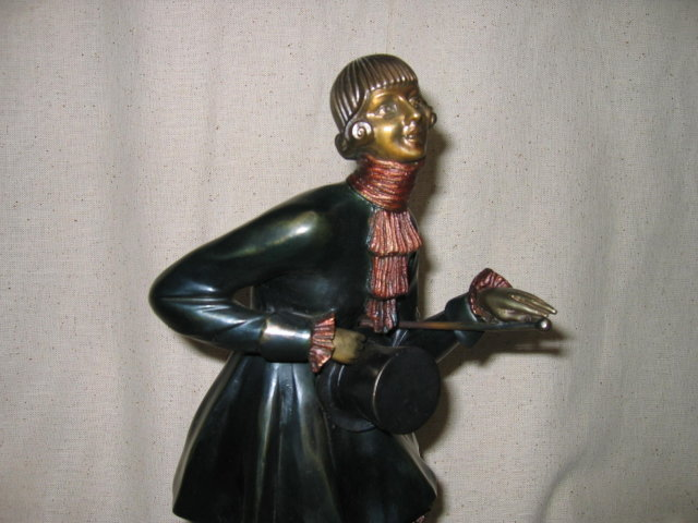 Top Hat Dancer Bronze