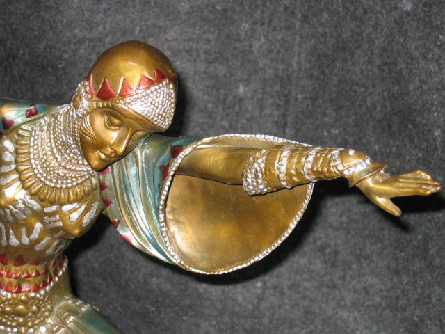Thais Bronze on Marble