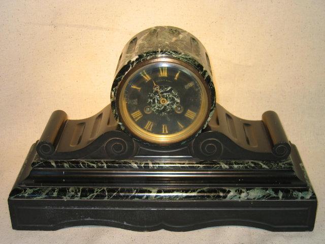 Marble/Slate Mantel Clock
