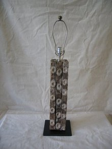 Oyster Farm Wood Bar Lamp