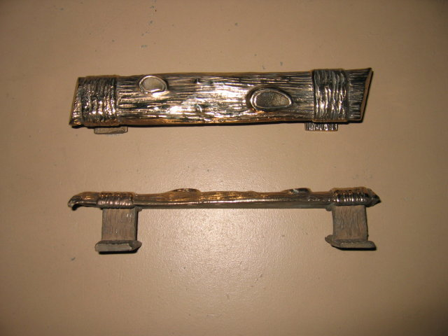 Solid Bronze Craftsman Door Handles