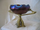 Art Nouveau Loetz Art Glass Centerpiece