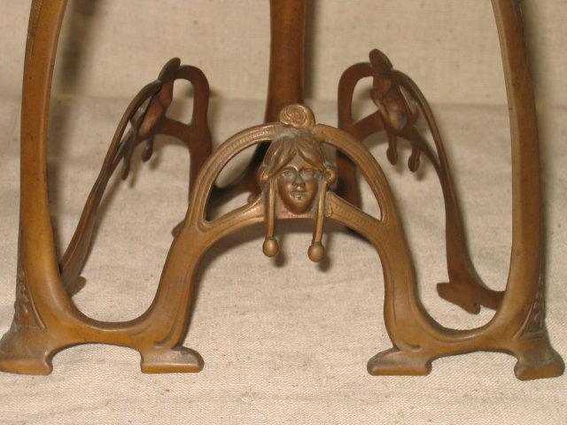 Antique Art Nouveau Loetz Glass Bowl Centerpiece