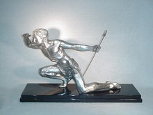 Art Deco Sculpture The Hunter