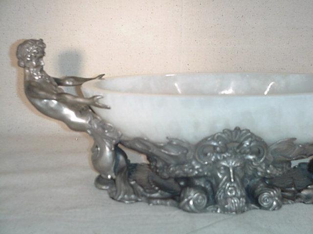 King Neptune w/2 Male Mermaids