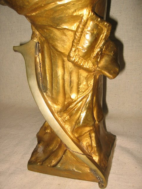 Gold Female Bust
