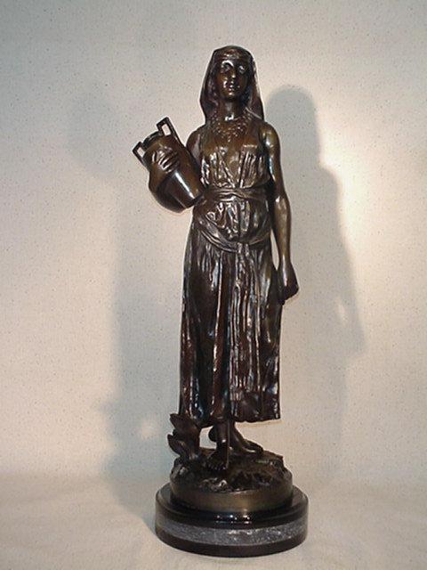 Arab Art Nouveau Holding Water Jug