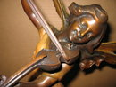 Pixy Girl Playing the Violyn Bronze