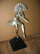 Art Deco Dancer Bronze