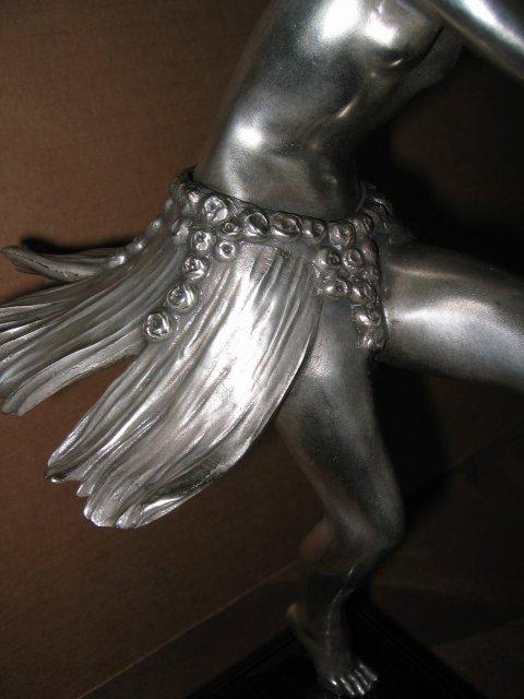 Art Deco Dancer Bronze