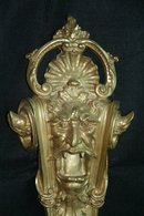 Gothic Candelabra Wall Sconce