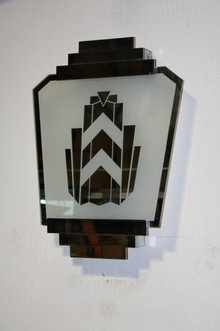 Original Art Deco Wall Sconce