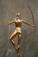 Bronze Figurine of Diana The Archer