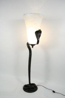 Bronze Cobra Floor Lamp