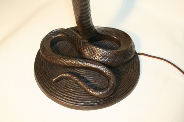 Bronze Cobra Floor Lamp