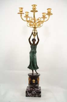 Empire Lady Candelabra