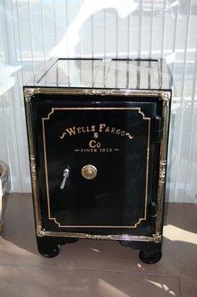 Mid 1800's Antique Wells Fargo Safe