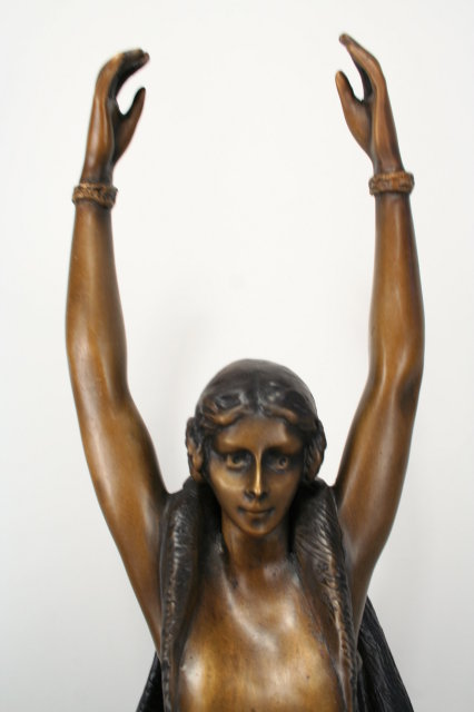 Bronze Figurine Titled Nordica