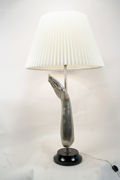 Unique Design Hand Table Lamp