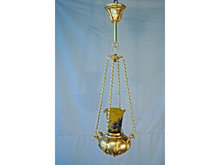 Antique Dore Pendant Chandelier