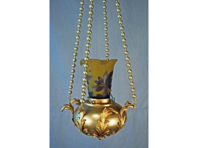 Antique Dore Pendant Chandelier