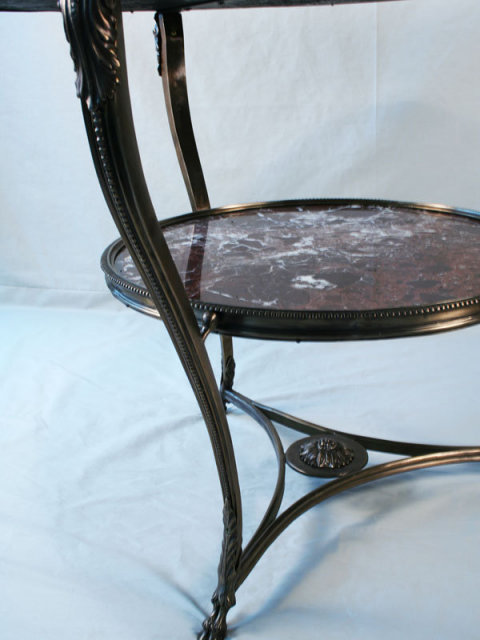 Two Tier Gueridon Style Table