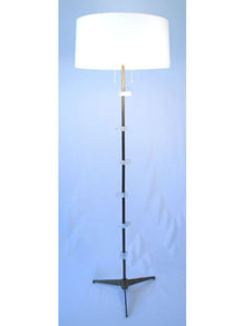 Rock Crystal Floor Lamp