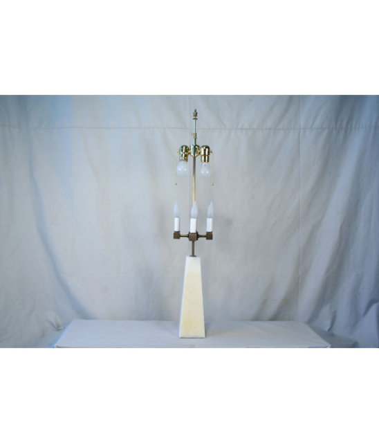 Modern Golden Onyx Lamp