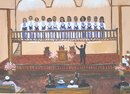 HELEN LAFRANCE/ CHURCH CHOIR/ SOUTHERN MEMORY PAINTING