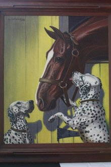 Walter Wilwerding / Horse and Dalmations
