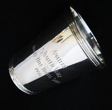 Sterling Silver Mint Julep Cup/Holly Hill Horse Show